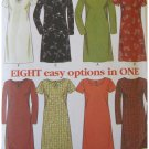 Simplicity Uncut Sewing Pattern 6697 Misses Dress New Look Size 8-18