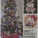 McCalls 6664 Country Critter Christmas Uncut Tree Skirt Ornaments Stockings
