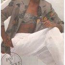Vintage Simplicity 9968 Misses Pants Bandeau Jacket Uncut Size 12 or 14