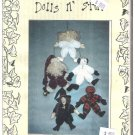 "Dolls n Stuff 12"" Holiday Door Hangers Pattern Emma's Lil' Darlin's Christmas Halloween"