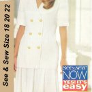 Butterick 3528 Misses Top and Skirt Uncut Size 18 20 22