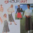Simplicity Pattern 9363 Misses 2 Hour Skirts Uncut Size 12 14 16