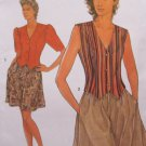 Uncut Pattern Misses Top and Pull On Shorts Size 10 12 14 16 18 20 Simplicity 9656