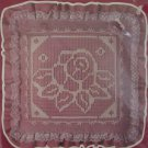 Vogart Net Darning Kit Victorian Rose Pillow Factory Sealed