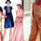 Simplicity 7081  Sewing Pattern Misses Romper Dress Hat  Size XS S M