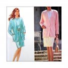 Uncut Sewing Pattern Misses Blouse Skirt Lined Jacket Size 10 12 14 16 18 Simplicity 7443