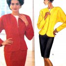 Butterick 4220 Sewing Pattern Misses Jacket Skirt and Blouse Size 12 14 16 Uncut