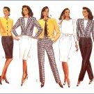 Butterick 4386 Uncut Pattern Misses Jacket Top Skirts Pants Size  6 8 10