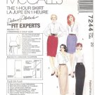 McCalls 7244 Uncut Skirt in 4 Lengths Pattern Misses Size 20 Palmer Pletsch 1 Hour Skirt