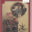 BUTTON Crafts Projects Santa Doll Christmas CUTE AS A BUTTON Uncut Pattern #164 THE BUCKEYE TREE