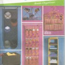 Simplicity Pattern 5124 Simply Teen Room Organizers UNCUT