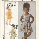 Simplicity 9181 Sewing Pattern Girls Overalls and Jumper Size 5 6 6X Uncut