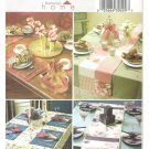 Butterick B4535 Uncut Sewing Pattern Table Runners Place Mats Napkins