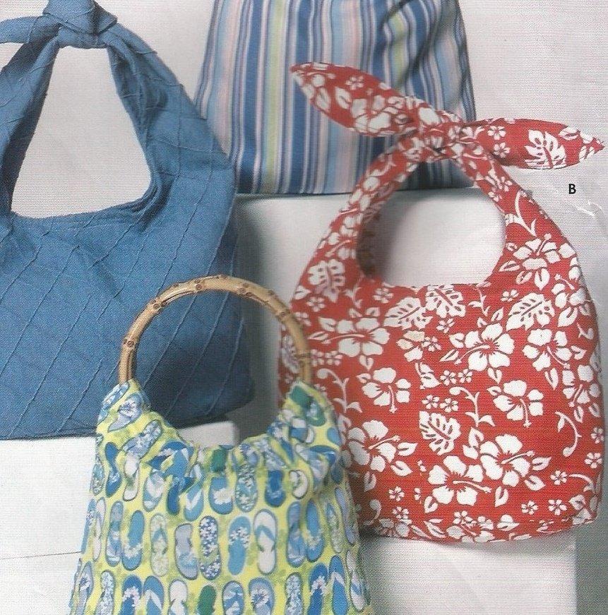Simplicity Sewing Pattern 5151 Handbags Totes Uncut Easy Pattern