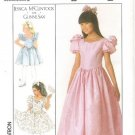 Jessica McClintock Gunne Sax Girls Dress Pattern Simplicity 8985 Pattern Size 7