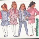 Vintage 1980s Uncut Pattern Girls Jacket, Top, Skirt and Pants Size 12-14 Butterick 6750