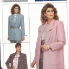 Butterick 5759 Misses Unlined Loose Fitting Hip Length Jacket Uncut Sizes 6 8 10