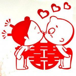 Big Kisses wedding supplier sticker 2