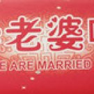 license plate stickers-wedding supplier