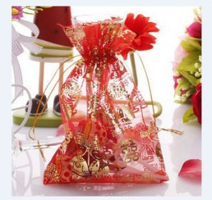 5 candy bags for wedding