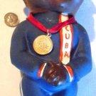 CUBAN SOCCER DOLL olympic barcelona spain olympian olympics  african africa black, cuban games
