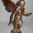 GOLDEN ANGEL nymph deco nouveau cast iron
