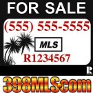 Relist MAX MLS and 24 x 24 Aluminum Yard Sign