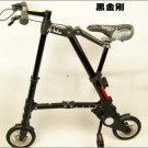 Quality Folding bike Abike 8 inch (black) Free shipping