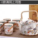 High quality porcelain teapot set 1 teapot with 6 cups(ch00e)Discount Price