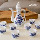 High Quality Porcelain Wine Pot and Wine Cup Set PROMOTION