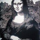 Mona Lisa Papercut Art Handcut Paper Art 36x48CM