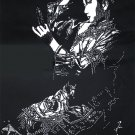 Cheongsam Beauty Papercut Art Handcut Paper Art 39x60CM