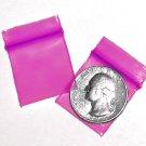 200 Pink 1010 Baggies 1 x 1 in. Small Ziplock Bags