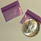 1000 Purple Baggies 12534 ziplock bags 1.25 x 0.75 inch