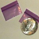 1000 Purple Baggies 12534 ziplock bags 1.25 x 0.75 inch