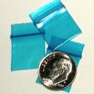 "200 Blue Baggies 5858 ziplock 5/8"" x 5/8"" Apple® Brand"