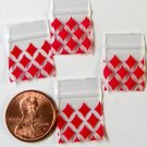 200 Diamonds Baggies 5858 ziplock 5/8&quot; x 5/8&quot; Apple Brand