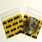 "200 Batman Baggies 1.5 x 1.5"" Small Ziplock Bags 1515"