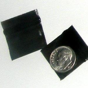 "200 Black Baggies 1034 ziplock 1 x 0.75"" Apple® brand"