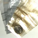 "200 Gold & Silver tinted Baggies 2 x 2"" Small Ziplock Bags 2020"