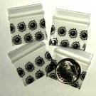 200 Eight Ball Design Baggies 1034 ziplock 1 x 0.75&quot; Apple brand