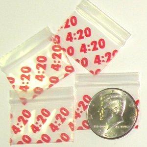 200 It's 4:20 Baggies 1510 Apple® Brand Bags 1.5 in by 1 in.
