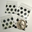 200 Black Cross Design Baggies 12510 Apple® Brand Bags 1.25 x 1 in.