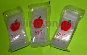 "1000 Clear Baggies 1.5 x 1.5"" Small Ziplock Bags 1515"