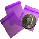 1000 Purple Baggies 1.5 x 1.5&quot; Small Ziplock Bags 1515