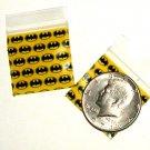 "1000 Batman Baggies 1.25 x 1.25"" Small Ziplock Bags 125125"