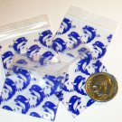 200 Blue Dolphins Baggies 12510 Apple® Brand Bags 1.25 x 1 in.