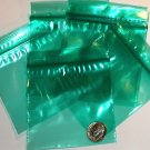 "200 Green baggies 3 x 3"" mini ziplock bags 3030"