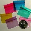 1000 Baggies Color Mix 12534 Apple reclosable mini ziplock bags 1.25 x 0.75 in.