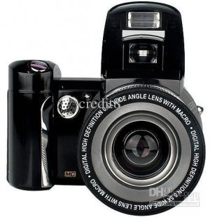 SLR 12MP Digital Camera 8 x zoom 500T 2.4inch TFT LCD High Digital Cameras 500T
